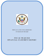 download PCLOB FY 2018 Final Financial Audit