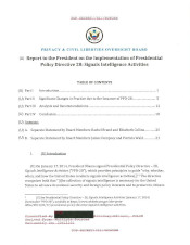 Download the PPD-28 Report - Presidential Policy Directive 28 (PPD-28) Report