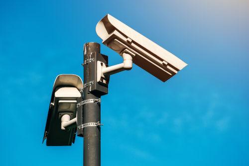 CCTV camera, modern era anti-terrorist electronic surveillance