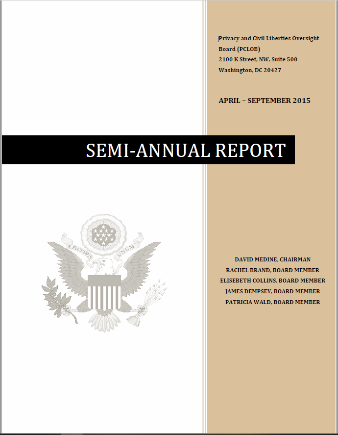 download April 2015 - September 2015Semi-Annual Report