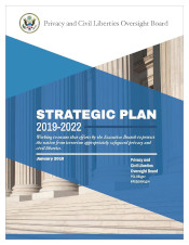 download PCLOB Strategic Plan for 2019-2022